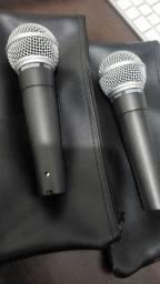 Microfones Shure SM58 Originais