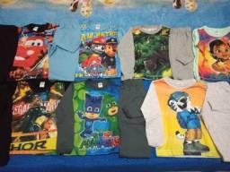 Pijamas personagens