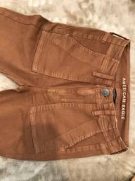 Calça Jeans Marrom American Eagle