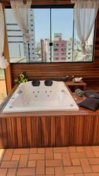 Banheira de hidro cromoterapia