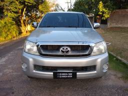 Toyota hilux cabine dupla 2.5 4x4 mecanica 2011Diesel