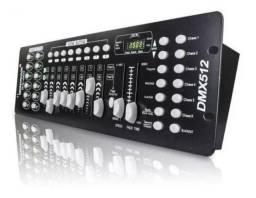 Mesa Dmx 192 Canais Profissional 240 Cenas Controladora de Luz