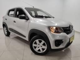 Vendo ou troco - Renault Kwid Zen Prata 2018 - Completo, super economico