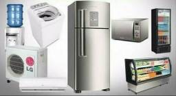 Trabalhando com todos os tipos de marcas de geladeira, freezer