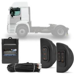 Kit vidro elétrico caminhões e Vans instalado