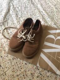 Sapato zara novíssimo