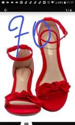 Vendo sapato e sandalias