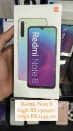 Redmi Note 8 64gb e 128gb