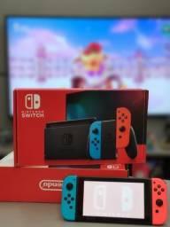 Nintendo Switch Seminovo - Na Caixa - Com Garantia - 12x no Cartão