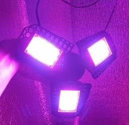 Lâmpada articulada led Full spectrum cultivo indoor