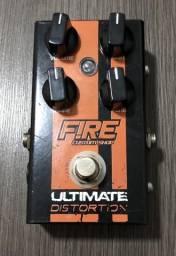 Vendo ou troco pedal Fire Ultimate distortion