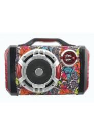 SpeakerEcopowerEP-2263 - Bluetooth - USB/TF - Karaoke - Multicolorido