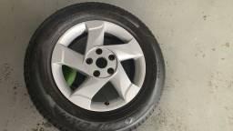 Roda 16 Renault Duster com pneu