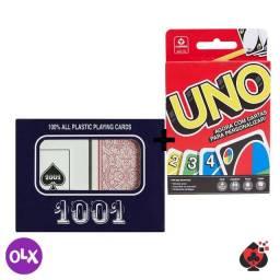 Baralho 1001 + jogo Uno - Copag