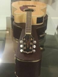 Violão Takamine Jumbo c/ case Luxo em 10X