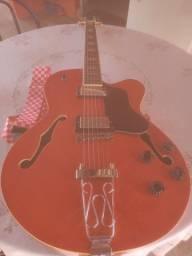 Guitarra Semi-Acustica (ler descrição)