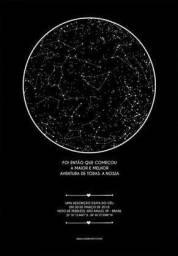 Mapa do céu/Mapa das estrelas