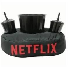 Almofada Porta Pipoca Netflix