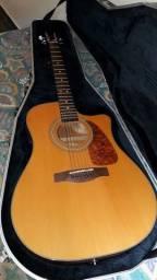 Violão Fender e Capa Case Gator