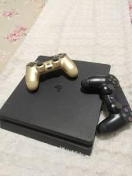 Playstation 4 com 1tera +jogos