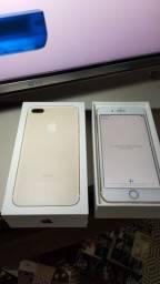 IPHONE  7 PLUS 32GB GOLD IMPECÁVEL
