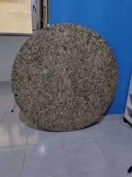 Granito polido mesa redonda