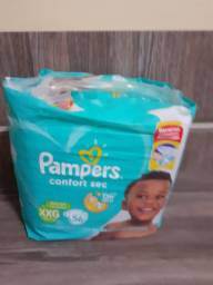 Fraldas Pampers xxg