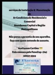 Instalação & Manutenção de Ar Condicionado
