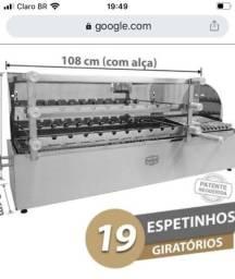 Máquina de assar espetinho Poligril
