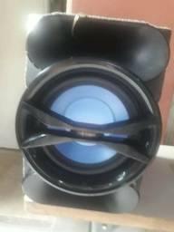 """Caixa Acústica Subwoofer 10"""" Som Philips Fwm9000 8ohm"""