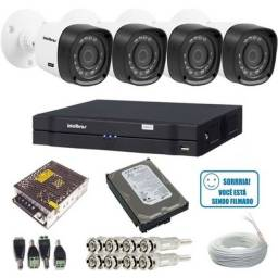 Sistema de câmeras de segurança CFTV