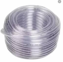 Mangueira pvc flexivel 1/4; 3/8 e 1/2 transparente R$ 0,50 / metro