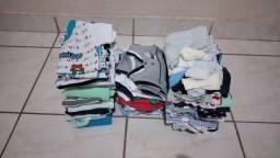 Lote roupas bebê Masculino