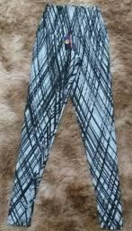 Leggings Aeroginga, cintura alta, do P ao GG R$ 50,00 cada
