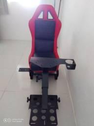 Cadeira simulado de corrida