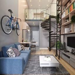 Cp-Apê conceito loft com gardem