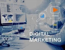 Trabalho com Marketing Digital e sites
