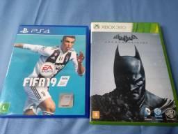Jogos de PS4 e XboX 360