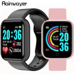 Relógio inteligente Smartwatch Com duas pulseiras
