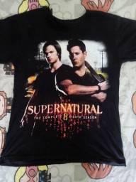 Camiseta supernatural nova