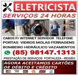 Eletricista 24hs (85) 98147.1313