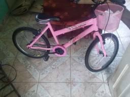 Bicicleta infantil completa