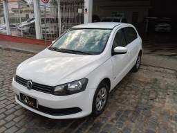 VW Gol G6 City 1.0 Branco Completo