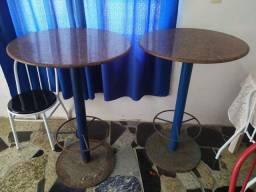 Mesa alta para bar de granito