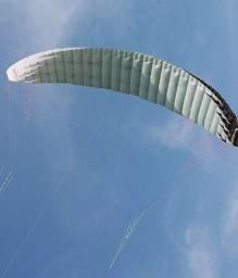 Pipa kite foil 12 mtr com barra 4 linhas usada uma vez