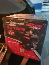 Motor estacionário gasolina 4t Kawashima 7hp na embalagem lacrado