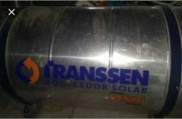 Aquecedor solar marca transsen
