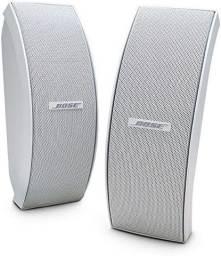 Bose 151 Par De Caixa Som Externo Stereo Home Teather Ambiente Externo Branca
