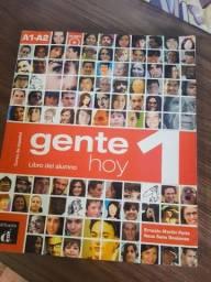 """Livro de espanhol """"Gente hoy"""" A1 A2"""