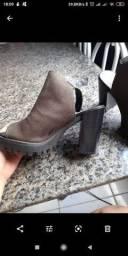 Sapato Salto Tratorado Moleca